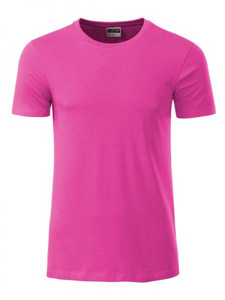 Herren Shirt pink Bio-Baumwolle Tradition Daiber