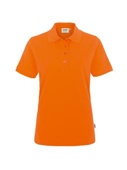 Damen Polo Performance in Orange