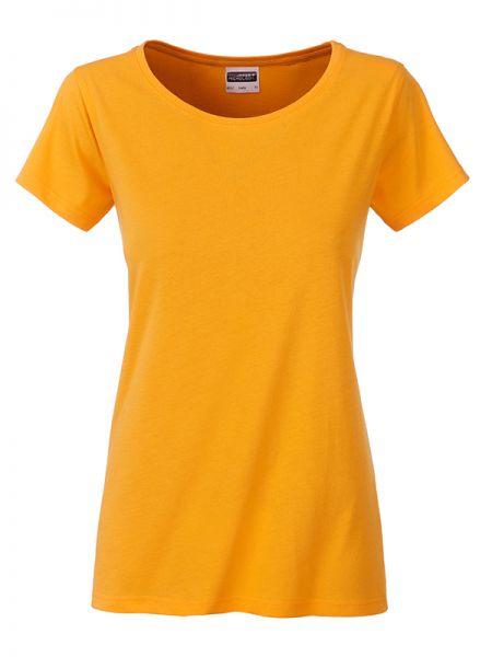 Damen Shirt goldgelb Bio-Baumwolle Tradition Daiber