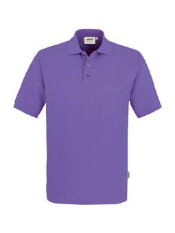 Herren Polo Performance in Lavendel