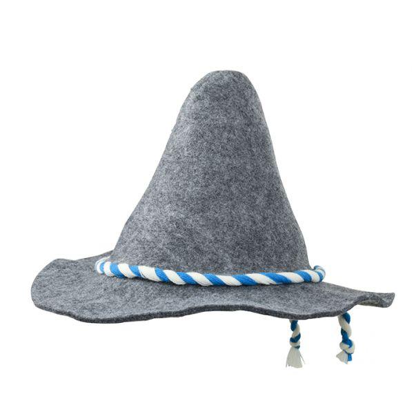 Spitzhut grau-melange Tradition Daiber