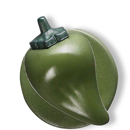 GREIFF - style 5900 Kugelknöpfe für Kochjacken - 12er Pack - Paprika grün