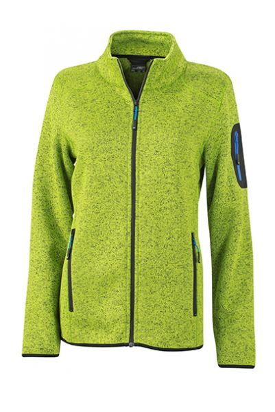 Damen Fleecejacke kiwi-melange Tradition Daiber