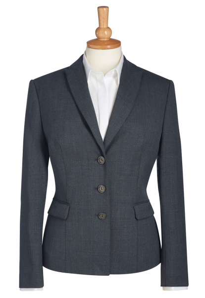 Damen Blazer Ritz in Mittelgrau