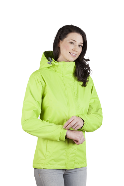 Damen Performance Jacke lemon green