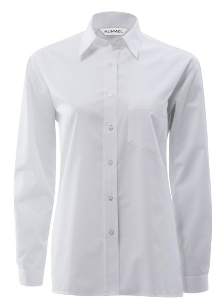 Damen Bluse weiß langarm Ingrid KÜMMEL