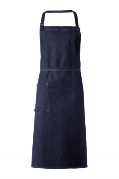 GREIFF - style 4412 Latzschürze 77x110 blue denim Jeansschürze