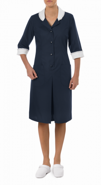 Zimmermädchenkleid marine Lilian Giblor´s