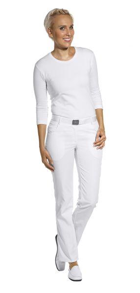 LEiBER classic style Damenhose weiß - Dehnbund - 08-6971 lange Größe