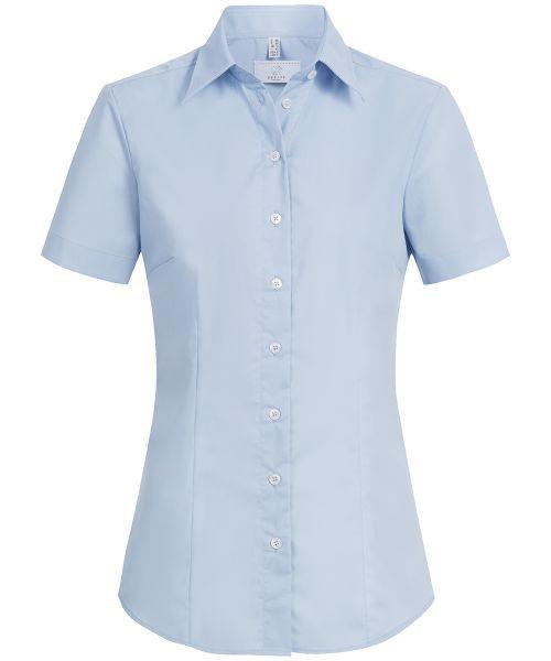 Strapazierfähige Damen Bluse regular fit Kurzarm | GREIFF Basic 6516