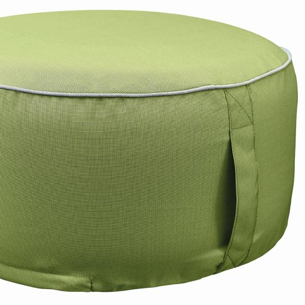Outdoor Sitzpouf - 55 x 25 in light green | 649 76 EXNER