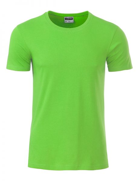Herren Shirt lime-green Bio-Baumwolle Tradition Daiber