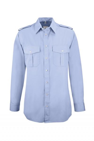 GREIFF basic - style 6602 Herren Pilothemd langarm comfort fit in weiß | bleu - comfort fit