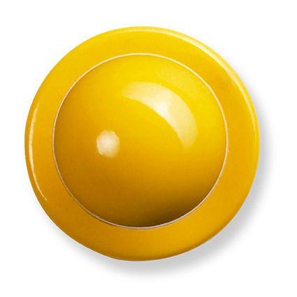 GREIFF - style 5900 Kugelknöpfe für Kochjacken - 12er Pack - gelb