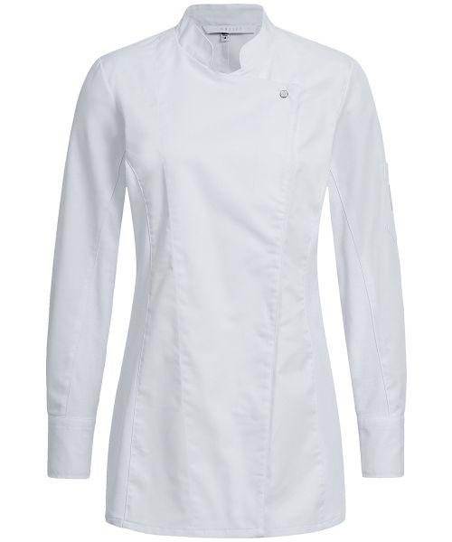 Damen Kochjacke mit Jerseyeinsatz slim fit | GREIFF Premium 5408