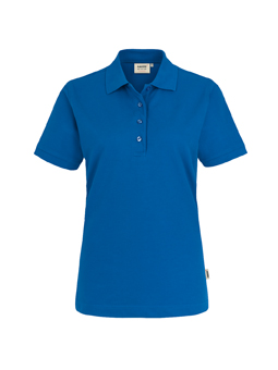 Damen Polo Performance in Royalblau