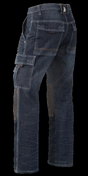 Arbeitshosen Jeans in Black Denim