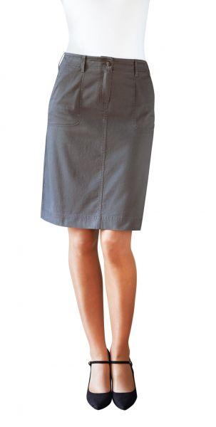 Chinorock für Damen in Grau